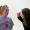 2012 College Squash Individual Championships: Danielle Letournea (Cornell) and Julee Devoy