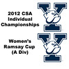 Ramsay Cup (Quarters): Millie Tomlinson (Yale) and Kimberley Hay (Yale)