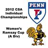 Ramsay Cup (Round of 32): Pia Trikha (Penn) and Ashley Tidman (Trinity)