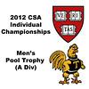 Pool Trophy (Quarters): Ali Farag (Harvard) and Antonio Diaz Glez (Trinity)