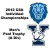 Pool Trophy (Round of 32): Ramit Tandon (Columbia) and Ryan Dowd (Yale)