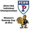 Ramsay Cup (1st Consolation, Round 1): Alicia Rodriguez Acosta (Trinity) and Courtney Jones (Penn)