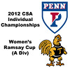 Ramsay Cup (1st Consolation, Round 1): Alicia Rodriguez Acosta (Trinity) and Courtney Jones (Penn)