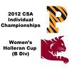 Holleran Cup (Round of 16): Alexandra Lunt (Princeton) and Samantha Matos (Bates)