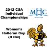 Holleran Cup (Round of 32): Chanel Erasmus (Trinity) and Randima Ranaweera (Mount Holyoke)
