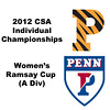 Ramsay Cup (Round of 32): Rachael Goh (Penn) and Alexandra Sawin (Princeton)
