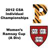 Ramsay Cup (Quarters): Julie Cerullo (Princeton) and Cecelia Cortes (Harvard)