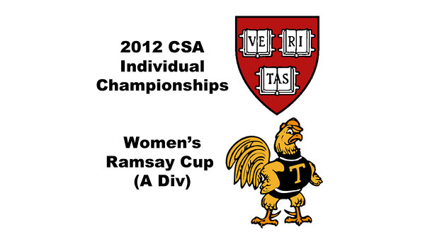 Ramsay Cup (2nd Consolation, Finals): Catalina Pelaez (Trinity) and Haley Mendez (Harvard)