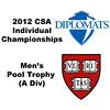 Pool Trophy (Round of 32): Brandon McLaughlin (Harvard) and Gabriel De Melo (Franklin & Marshall)