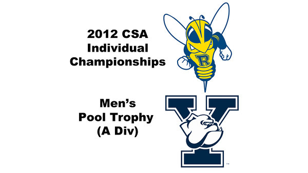 Pool Trophy (Round of 32): Andres Duany (Rochester) and John Roberts (Yale)