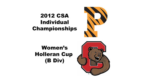 Holleran Cup (Round of 32): Casey Cortes (Princeton) and Rachel Au (Cornell)