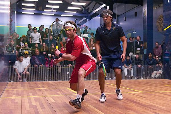 2012 Cornell at Trinity: Antonio Diaz Glez (Trinity) and Alex Domenick (Cornell)