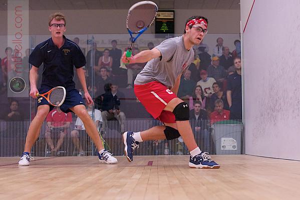 2012 Cornell at Trinity: Johan Detter (Trinity) and Thomas Spettigue (Cornell)