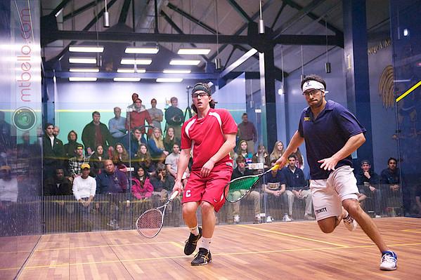 2012 Cornell at Trinity: Vikram Malhotra (Trinity) and Nicholas Sachvie (Cornell)