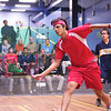 2012 Cornell at Trinity: Miled Zarazua (Trinity) and Aditiya Jagtap (Cornell)<br /> <br /> Published on page 31 of Squash Magazine (October 2012)