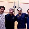2012 Cornell at Trinity: Trinity Captains and Coaches Antonio Diaz Glez, Paul Assaiante, Vikram Malhotra, and Andres Vargas