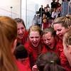 2012 Cornell at Trinity: Cornell huddle