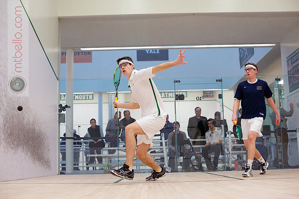 2012 Dartmouth Fall Classic: Hunter Abrams (Navy) and  Christopher Jung (Dartmouth)