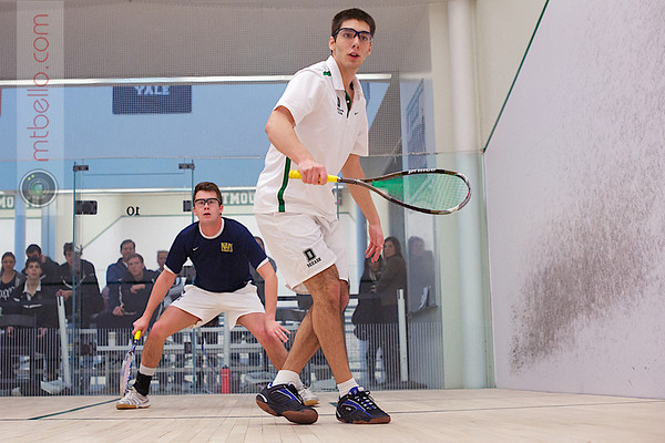 2012 Dartmouth Fall Classic: Hunter Bouchard (Navy) and Michael Mistras (Dartmouth)
