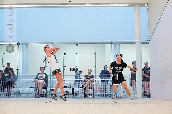 2012 Dartmouth Fall Classic: Bonnie Cao (Bowdoin) and Sarah Caughey (Dartmouth)