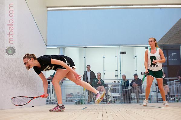 2012 Dartmouth Fall Classic: Tori Dewey (Dartmouth) and Sara Wlodarczyk (Bowdoin)