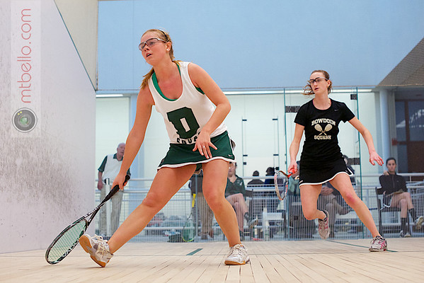 2012 Dartmouth Fall Classic: Tori Dewey (Dartmouth) and Sara Wlodarczyk (Bowdoin)