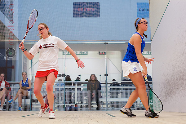 2012 Dartmouth Fall Classic: Erin Golueke (Franklin & Marshall) and Cordelia McHugh (St. Lawrence)