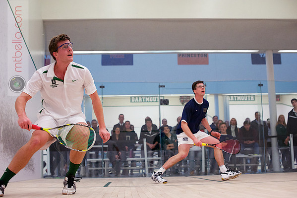 2012 Dartmouth Fall Classic: John Richey (Navy) and Scott Chapin (Dartmouth)