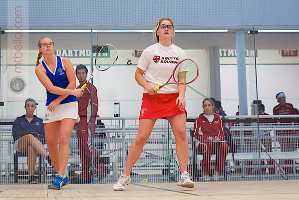 2012 Dartmouth Fall Classic: Chelsea Ross (Franklin & Marshall) and Sarah Neilson (St. Lawrence)