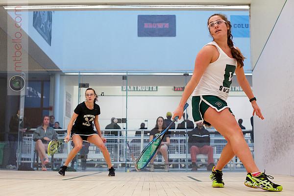2012 Dartmouth Fall Classic: Monica Wlodarczyk (Bowdoin) and Lydie McKenzie (Dartmouth)