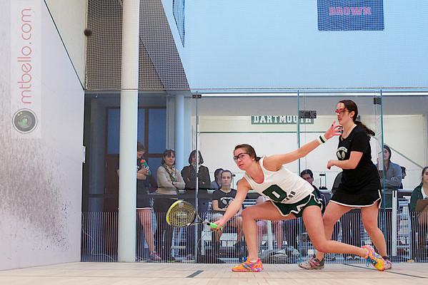 2012 Dartmouth Fall Classic: Alden Drake (Bowdoin) and Katherine Nimmo (Dartmouth)