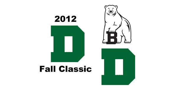 2012 Dartmouth Fall Classic - W3s: Katherine Nimmo (Dartmouth) and Alden Drake (Bowdoin)