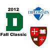 2012 Dartmouth Fall Classic - W1s: Emily Caldwell (Franklin & Marshall) and Brigitte Tousignant (St. Lawrence)