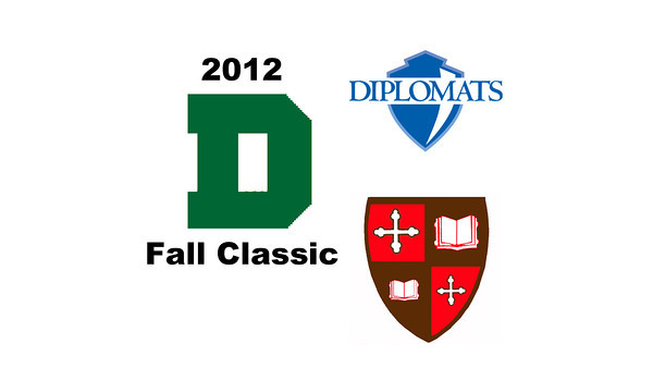 2012 Dartmouth Fall Classic - M2s: Mauricio Sedano (Franklin & Marshall) and Kyle Ogilvy (St. Lawrence)