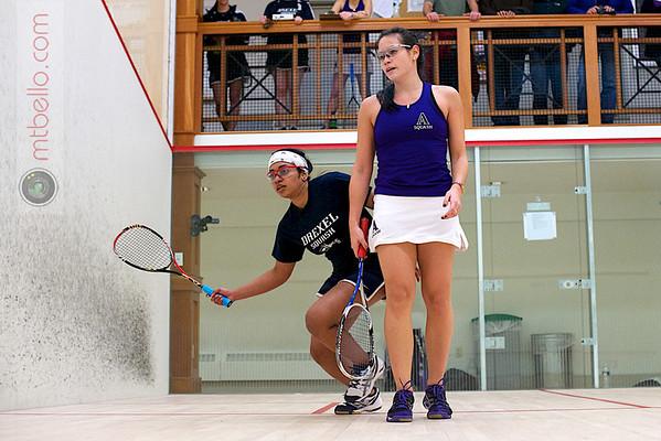 2012 Drexel @ Amherst: Damindhi Udangawa (Drexel) and Chandler Lusardi (Amherst)