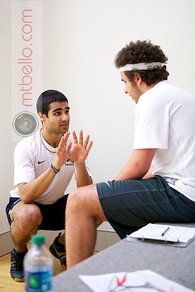 2012 Drexel @ Amherst: Justin Singh and Ibrahim Bakir (Drexel)