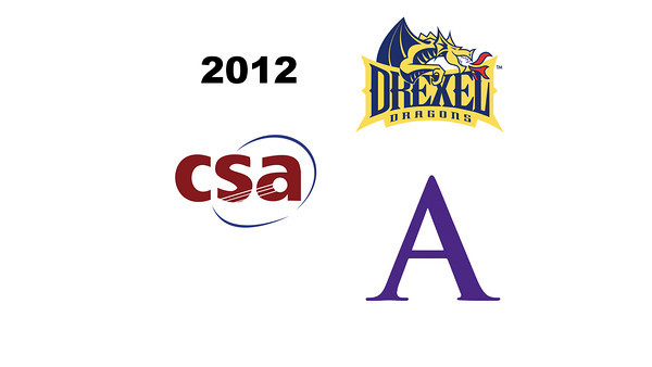 2012 Drexel @ Amherst - W3s: Anne Piper (Amherst) and Disha Tharyamal (Drexel)