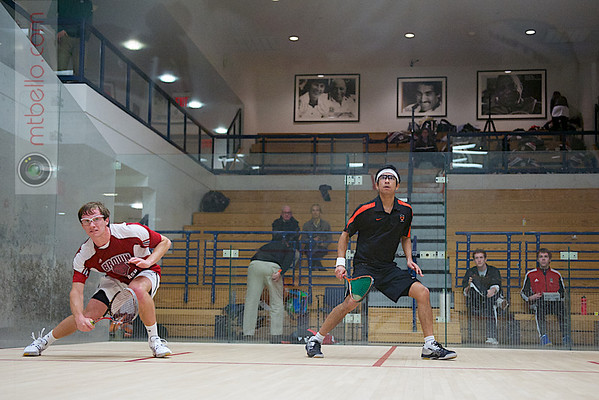 2012 Ivy League Scrimmages: Samuel Kang (Princeton) and Jack Blasberg (Brown)