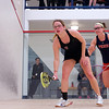2012 Ivy League Scrimmages: Isabelle Dowling (Harvard) and Courtney Jones (Penn)