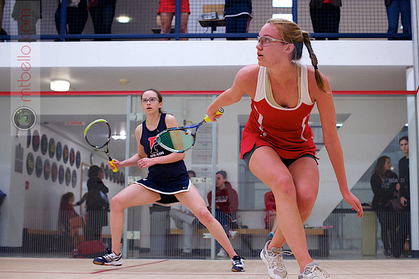 2012 Ivy League Scrimmages: Margaret Remsen (Cornell) and Colleen Fehm (Penn)