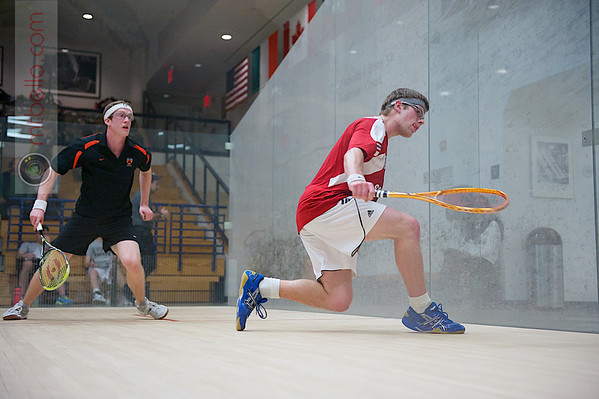 2012 Ivy League Scrimmages: Blake Reinson (Brown) and Todd Harrity (Princeton)