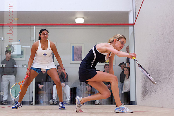 2012 Ivy League Scrimmages: Alisha Maity (Columbia) and Michelle Gemmell (Harvard)