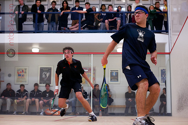 2012 Ivy League Scrimmages: Taylor Tutrone (Princeton) and Zachary Leman (Yale)
