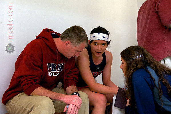 2012 Ivy League Scrimmages: Jack Wyant and Rachael Goh (Penn)