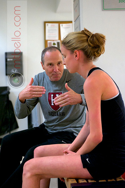 2012 Ivy League Scrimmages: Mike Way and Michelle Gemmell (Harvard)
