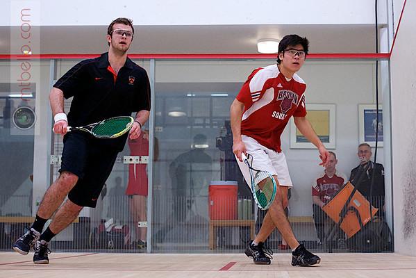 2012 Ivy League Scrimmages: Alex Hsu (Brown) and Ash Egan (Princeton)
