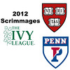 2012 Ivy League Scrimmages - W3s: Michelle Gemmell (Harvard) and Rachael Goh (Penn)