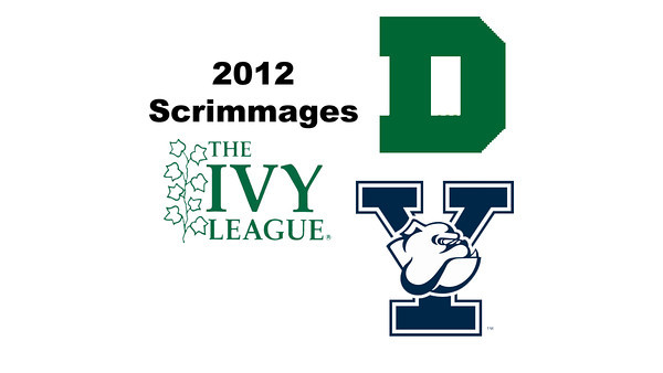 2012 Ivy League Scrimmages - M8s: Fletcher Pease (Dartmouth) and Eric Caine (Yale)