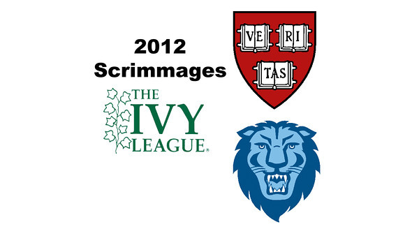 2012 Ivy League Scrimmages - W1s: Laura Gemmell (Harvard) and Catherine Jenkins (Columbia)