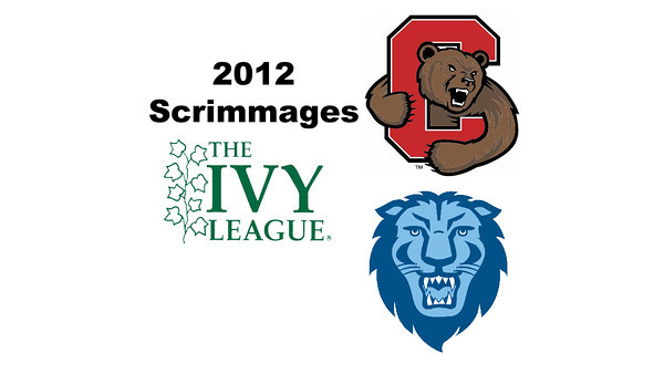 2012 Ivy League Scrimmages - W2s: Jaime Laird (Cornell) and Leah Barnet (Columbia)